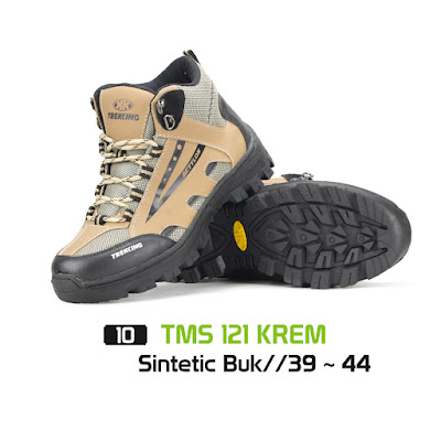 Sepatu Gunung Trekking TMS 121 Cream