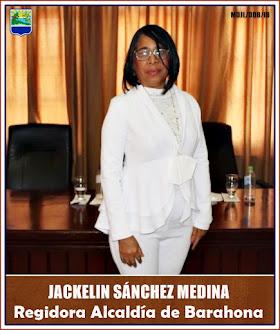 JACKELIN SÁNCHEZ MEDINA-Regidora Alcaldía de Barahona