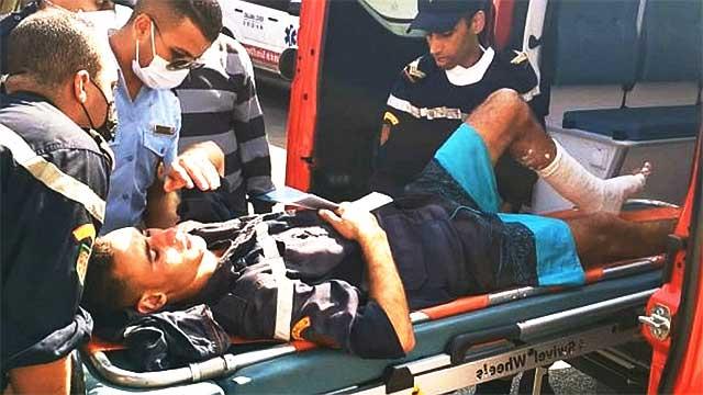 الجديدة: اصابات في صفوف رجال الوقاية المدنية اثر انهيار منزل