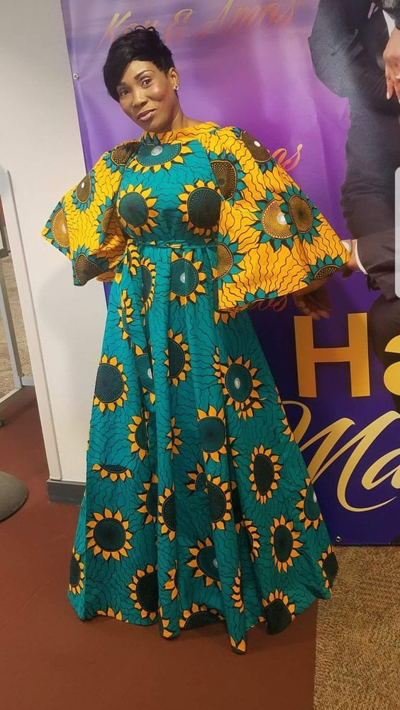 30 Pictures Of Long Kitenge Mix Designs Fashenista