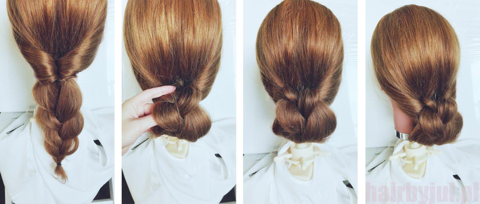 Fryzura W 5 Minut łatwy Koczek Krok Po Kroku Hair By Jul Fryzury