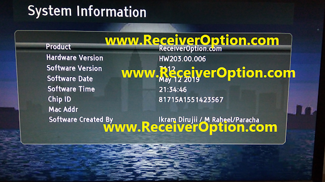 GX6605S HW203.00.006 POWERVU KEY SOFTWARE NEW UPDATE 105E 68E 66E FULL OK
