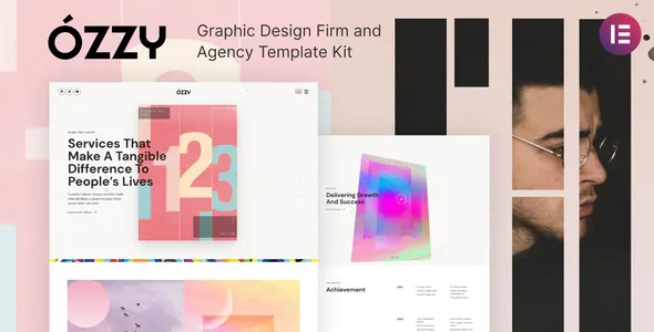 Best Graphic Design Firm and Agency Template Kit