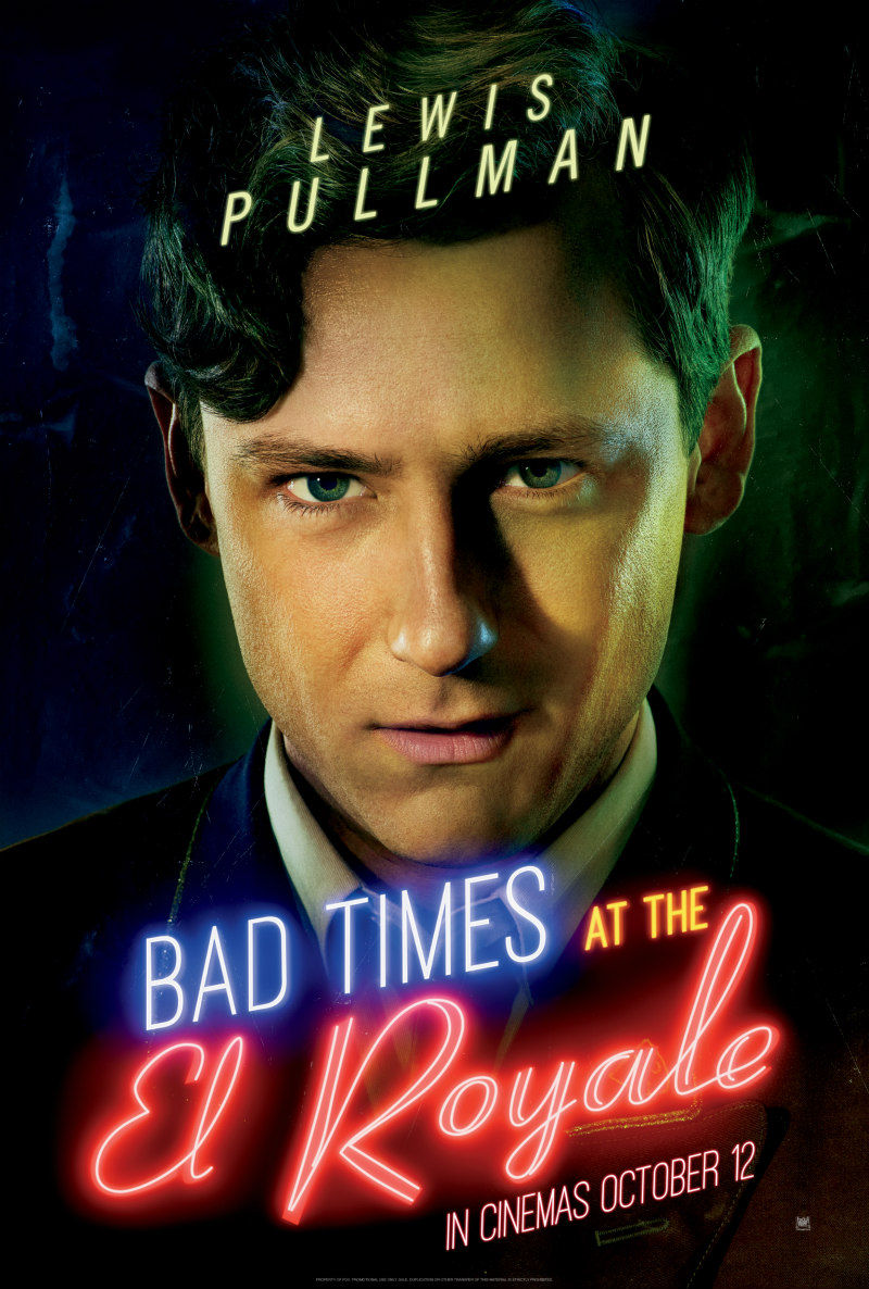 BAD TIMES AT THE EL ROYALE poster lewis pullman