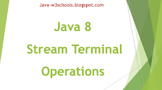 Java 8 Stream Intermediate Operations (Methods)