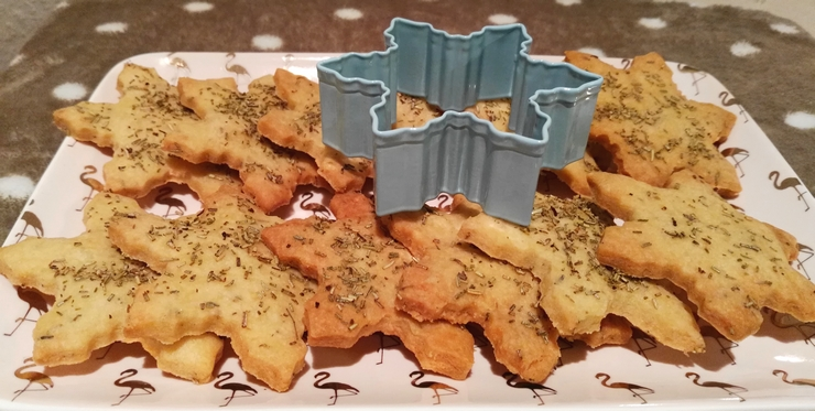 sables noel parmesan romarin