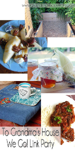 Scratch Made Food! & DIY Homemade Household featured at Grandma's House We Go link-up!