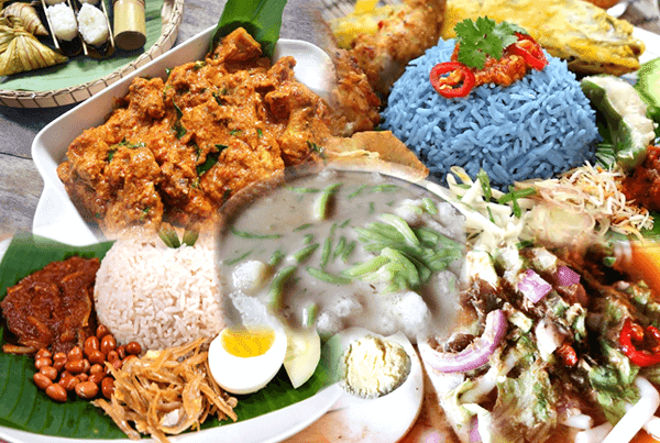 delicious food in Malaysia