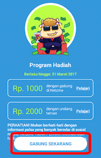 Begini Cara Dapetin Uang & Pulsa Dari Netzme Serta Cara menggunakan Netzme Lengkap