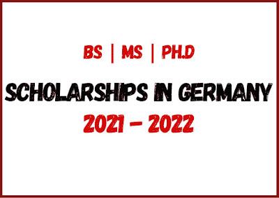 المنح الدولية في ألمانيا 2021-2022 | بكالوريوس - ماجستير - دكتوراه
