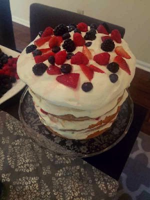 A Summer Solstice Dinner Party 2018: Strawberry Shortcake with Whipped Cream
