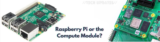 Difference Between Normal Raspberry Pi and The Compute Module?