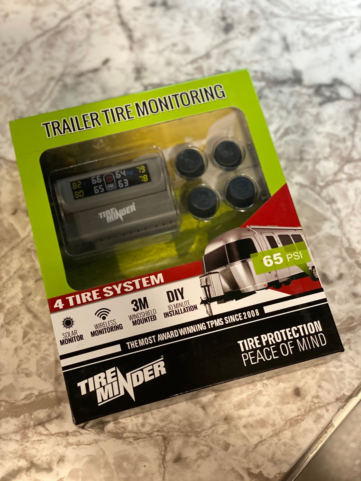 RV Towing Safety with Tire Minder