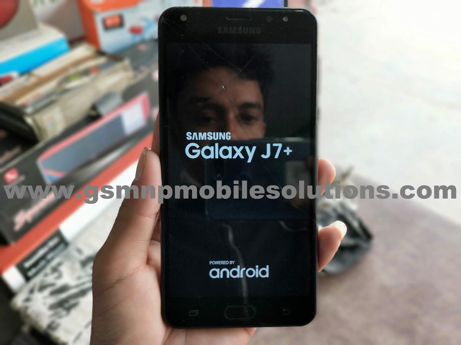 MT6580 Samsung Galaxy J7+ SM-J7+ Clone Firmware Stock Rom/Flash File