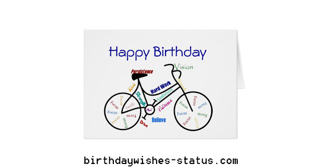 birthday wishes for cyclists