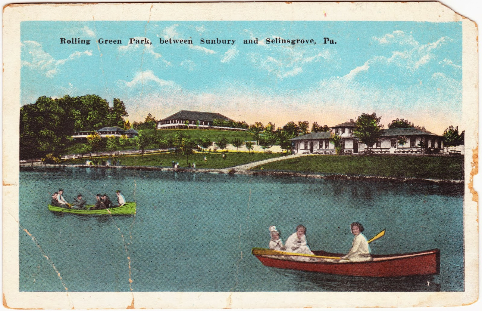 Papergreat Pennsylvania Postcards Lancaster Sects And