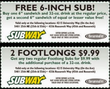 Promo codes for subway : Preschool prep co