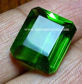 Batu Permata Green Tektite - ZP 236