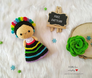 Frida crochet patterns