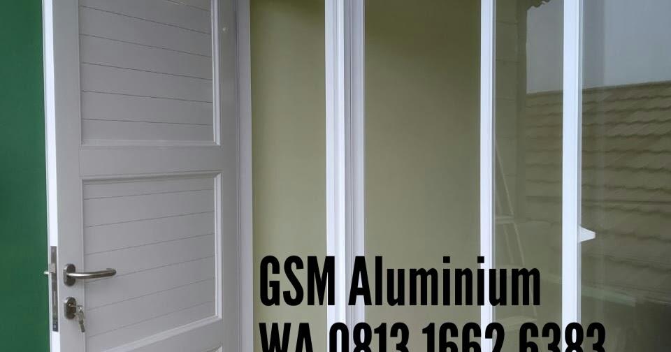 KUSEN ALUMINIUM GARUDA: Harga Pintu Panel Aluminium Rp 1 ...