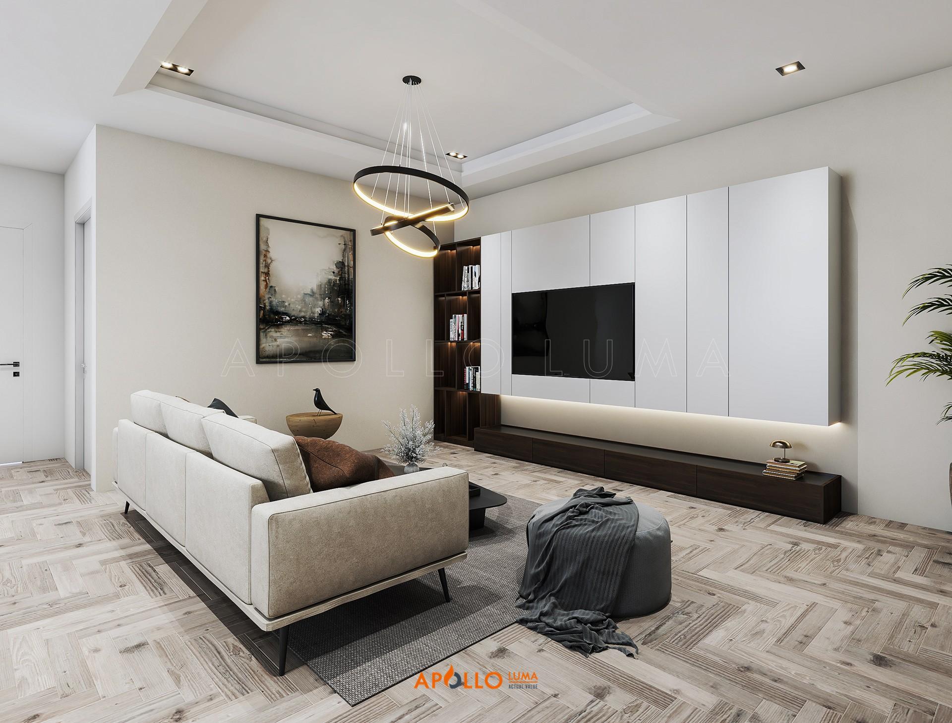 Thiết kế nội thất căn hộ 3 phòng ngủ Park Hill - Times City