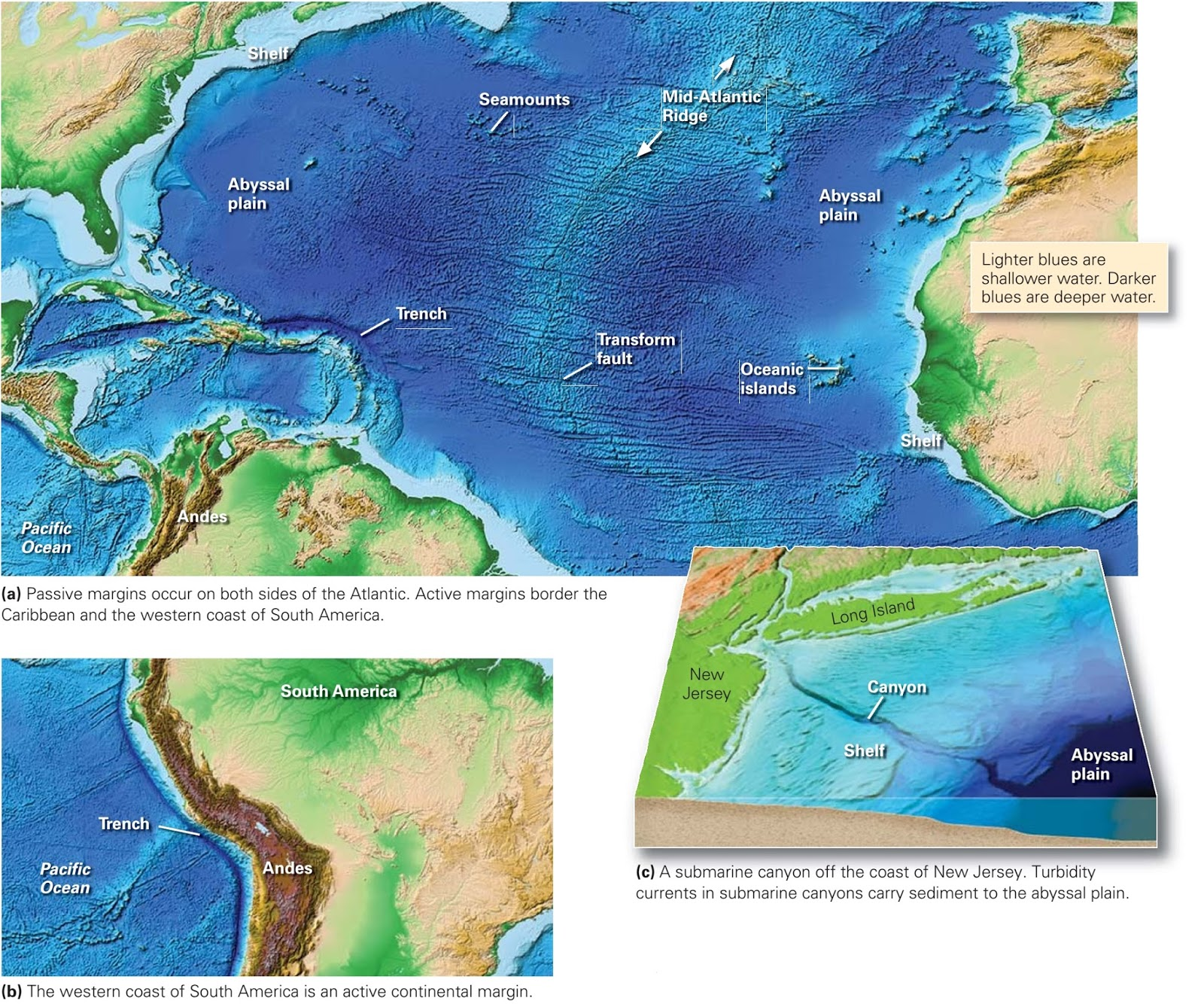 Landscapes Beneath The Sea Learning Geology