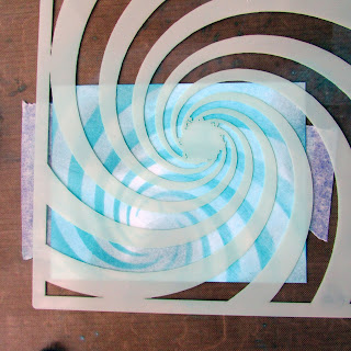 spiral stencil