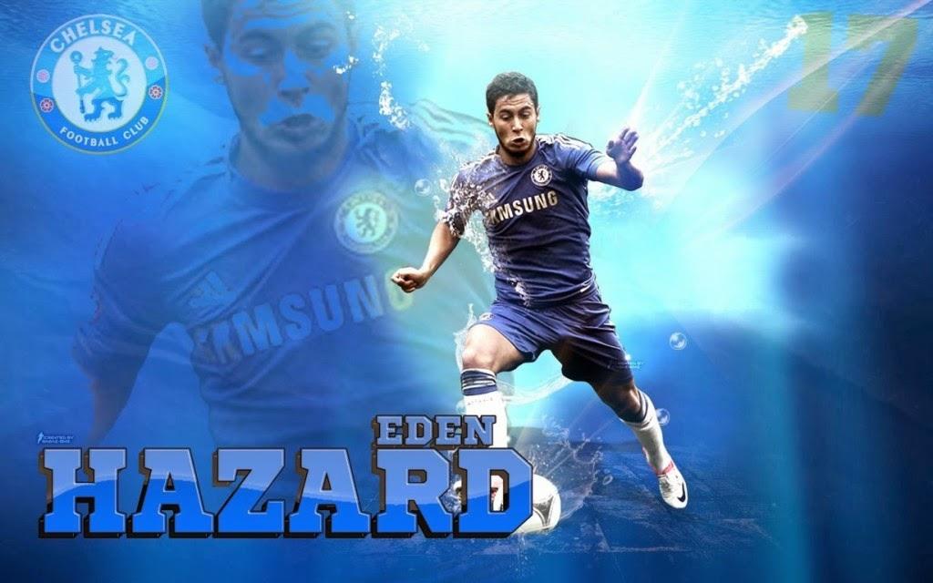 Eden Hazard Latest HD Wallpaper 2014