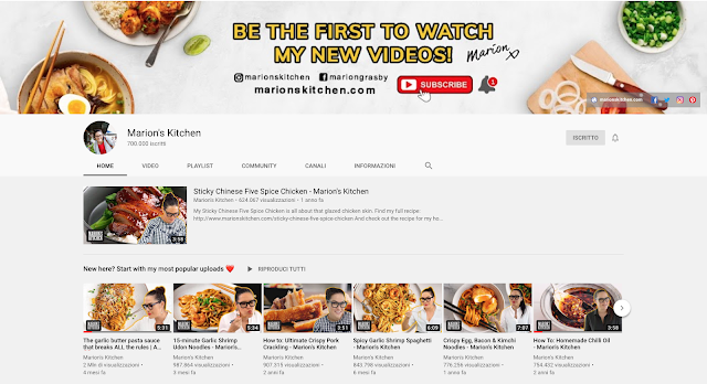 favourite asian cuisine show on youtube, marion's kitchen, asian food at home, food blogger, chef