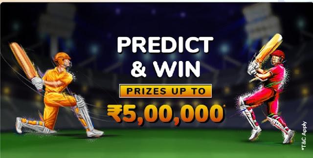 Mobikwik Predict and Win Upto ₹500000
