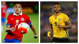 Chile vs Jamaica, Amistoso Internacional