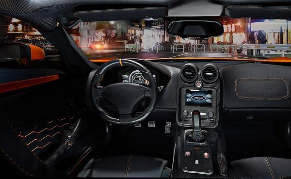 Interior Zenvo ST1
