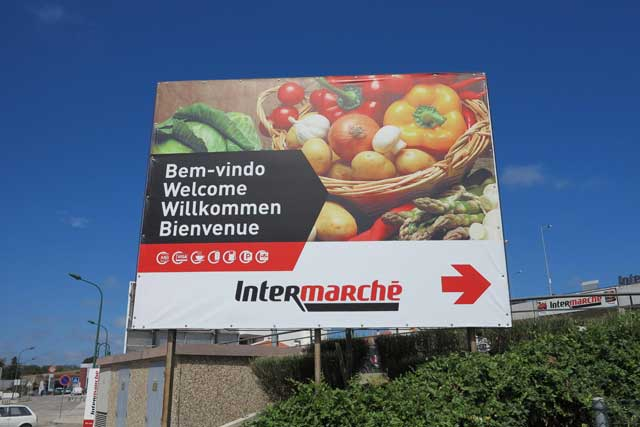 Supermarket on the Algarve
