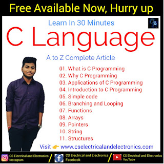 C Programming For Beginners | Learn In 30 Minutes | C Language