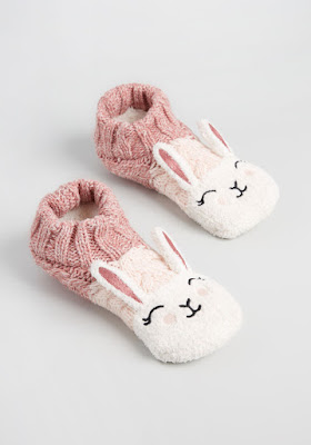 Comfy and cozy critters slipper socks