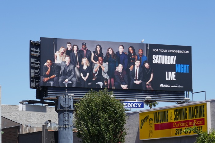 SNL 2019 Emmy FYC billboard
