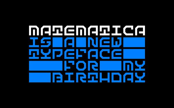 Download Font Edisi Februari 2017 - Matematica Font