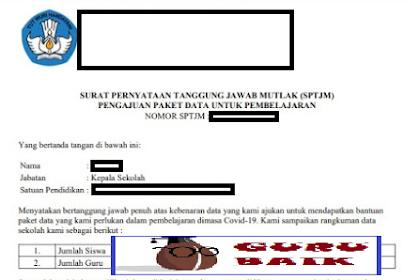 Cara Mudah Download Dan Upload SPTJM Verval Ponsel Dapodik 2021.a