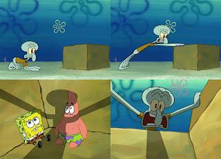 Polosan meme spongebob dan patrick 152 - Kotak imajinasi tv milik patrick dan spongebob