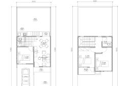 Denah Rumah Minimalis 2 Lantai Type 36/72