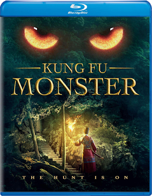 Cover art for Well Go USA's Blu-ray of Andrew Lau's KUNG FU MONSTER.