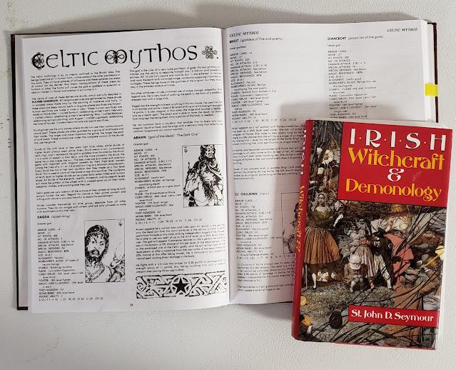 Irish Witchcraft & Demonology and Celtic Myths