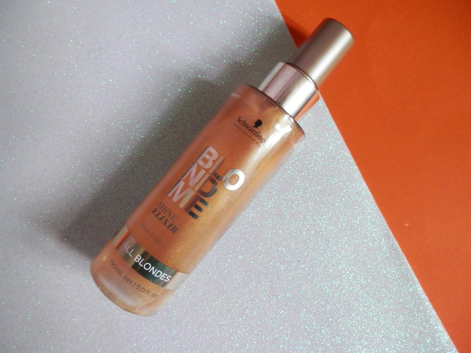 foto do produto Blondme Shine Elixir da Schwarzkopf
