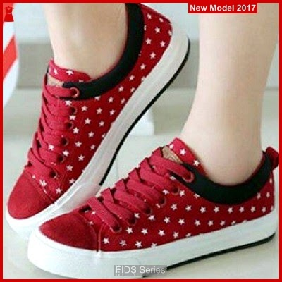 FIDS082 Sepatu Wanita Sepatu Kets Hak 3 Cm BMG