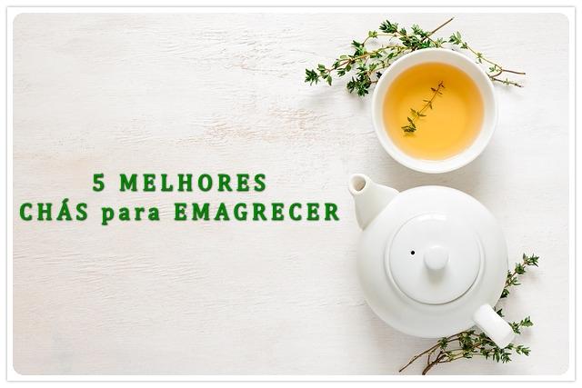 5 Melhores chás para emagrecer