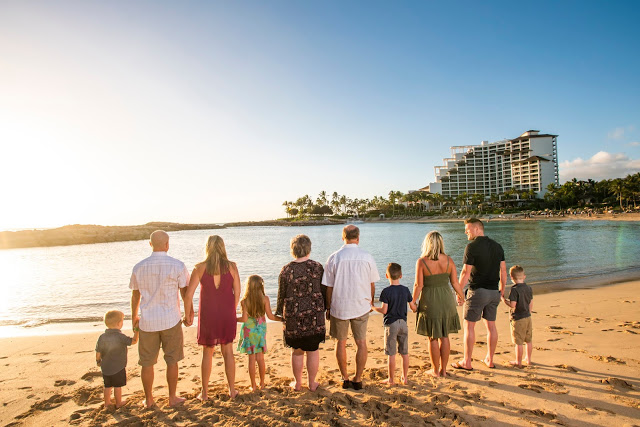 Disney Aulani Family Beach Photographers
