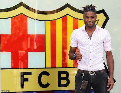 'Thật thà' như Alex Song: Tôi đến Barca vì tiền!