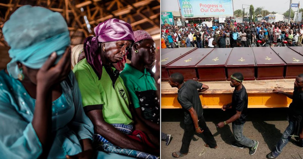 Over 1,400 Christians Have Been Killed In Nigeria In 2021, Report Reveals