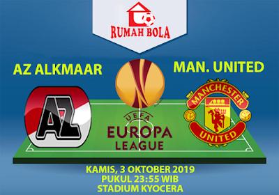 Prediksi AZ Alkmaar vs Manchester United 3 Oktober 2019