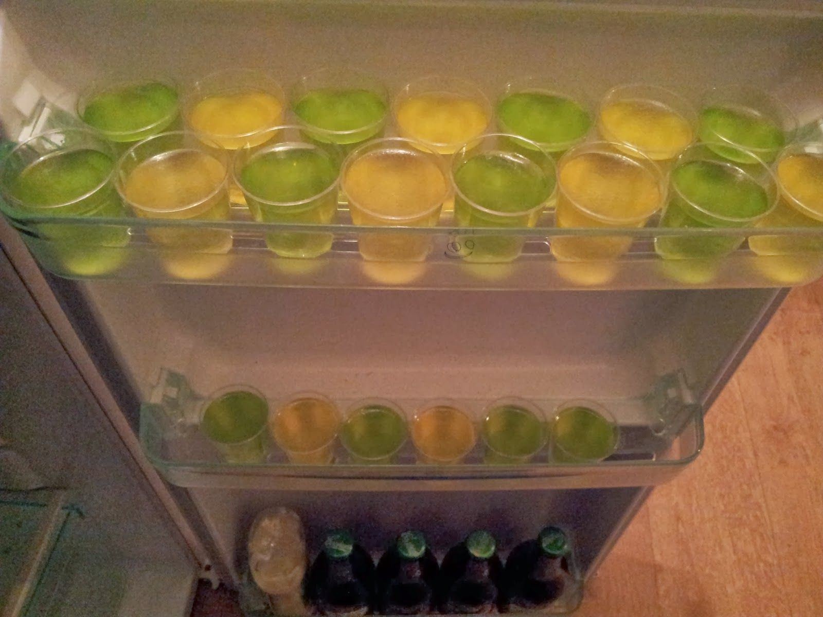 how to make vodka jellys